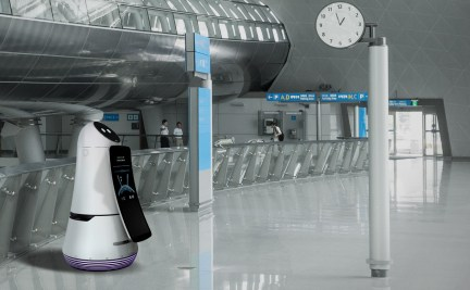 2.-LG-Airport-Guide-Robot