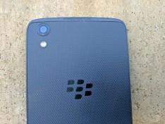 Rear camera, LED Flash & BlackBerry Branding