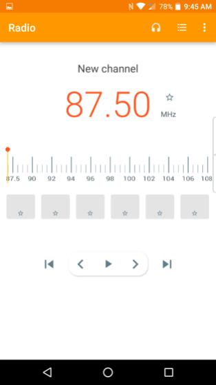 Radio App