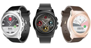 MyKronoz announces a world first hybrid smartwatch, with touchscreen and traditional hands