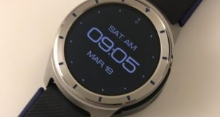 Pictures of ZTE's first Android Wear watch – the Quartz leak