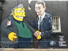 political street art