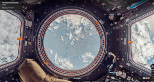 Google Street view now lets you float in Outer Space, well inside the ISS