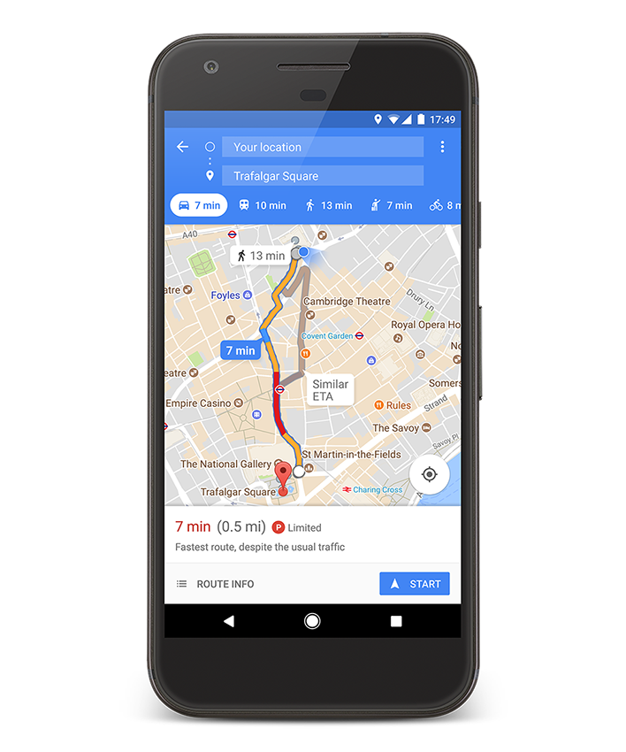 Google Maps expands parking difficulty icons to 25 more cities