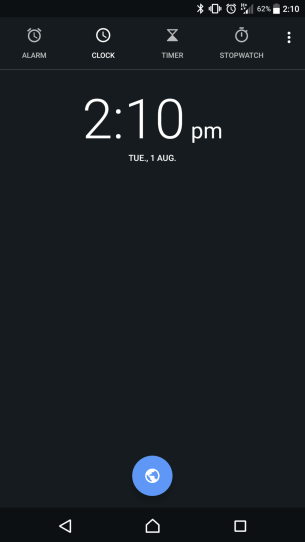 New Clock theme