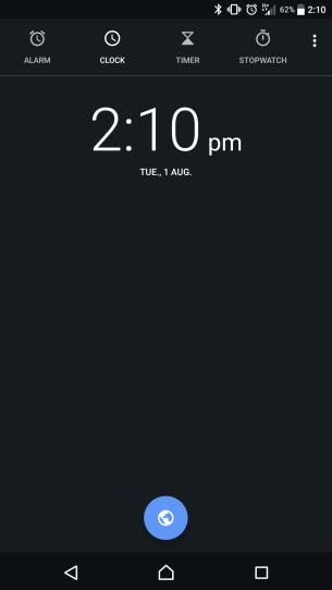 New Clock theme