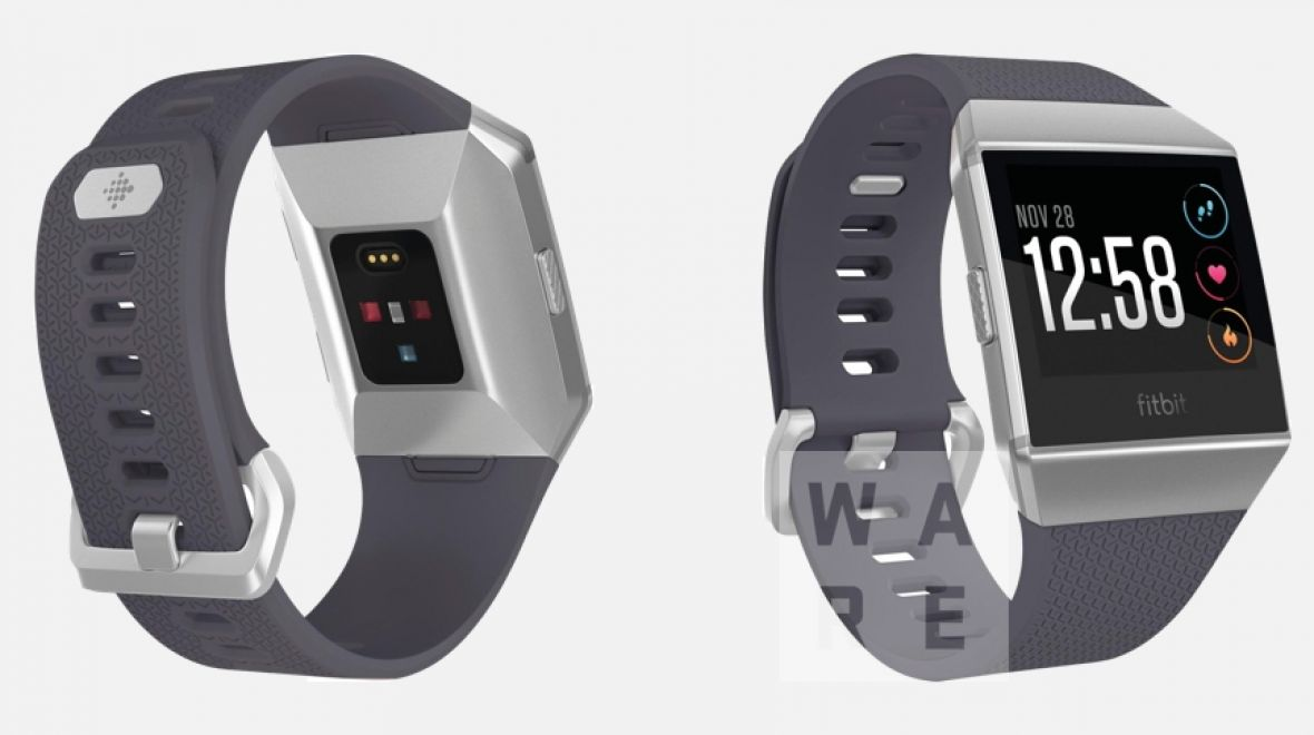 Latest Fitbit smartwatch leak shows off design and new heart-rate tech""