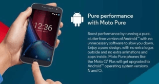 Motorola Reluctantly Adds G4 Plus to Oreo Upgrade List