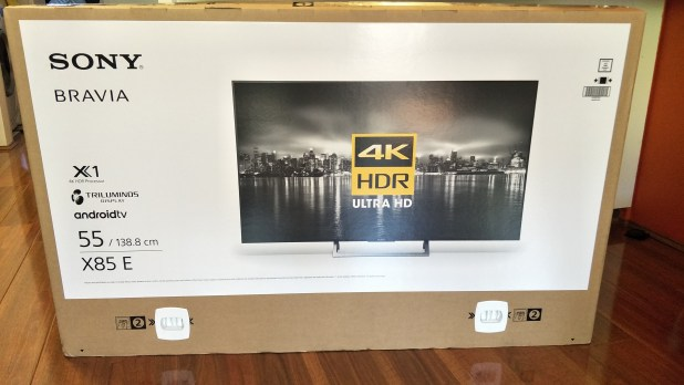 Sony X8500E 2017 Android TV - Australian Review - Ausdroid
