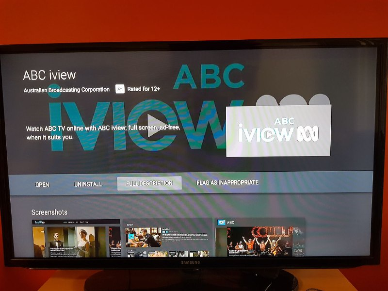 ABC is working on an iview app for Android TV - now available on