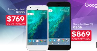 Kogan has a Click Frenzy special on the original Google Pixel and Pixel XL