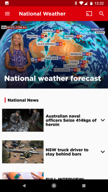 Sky News Aus - Weather