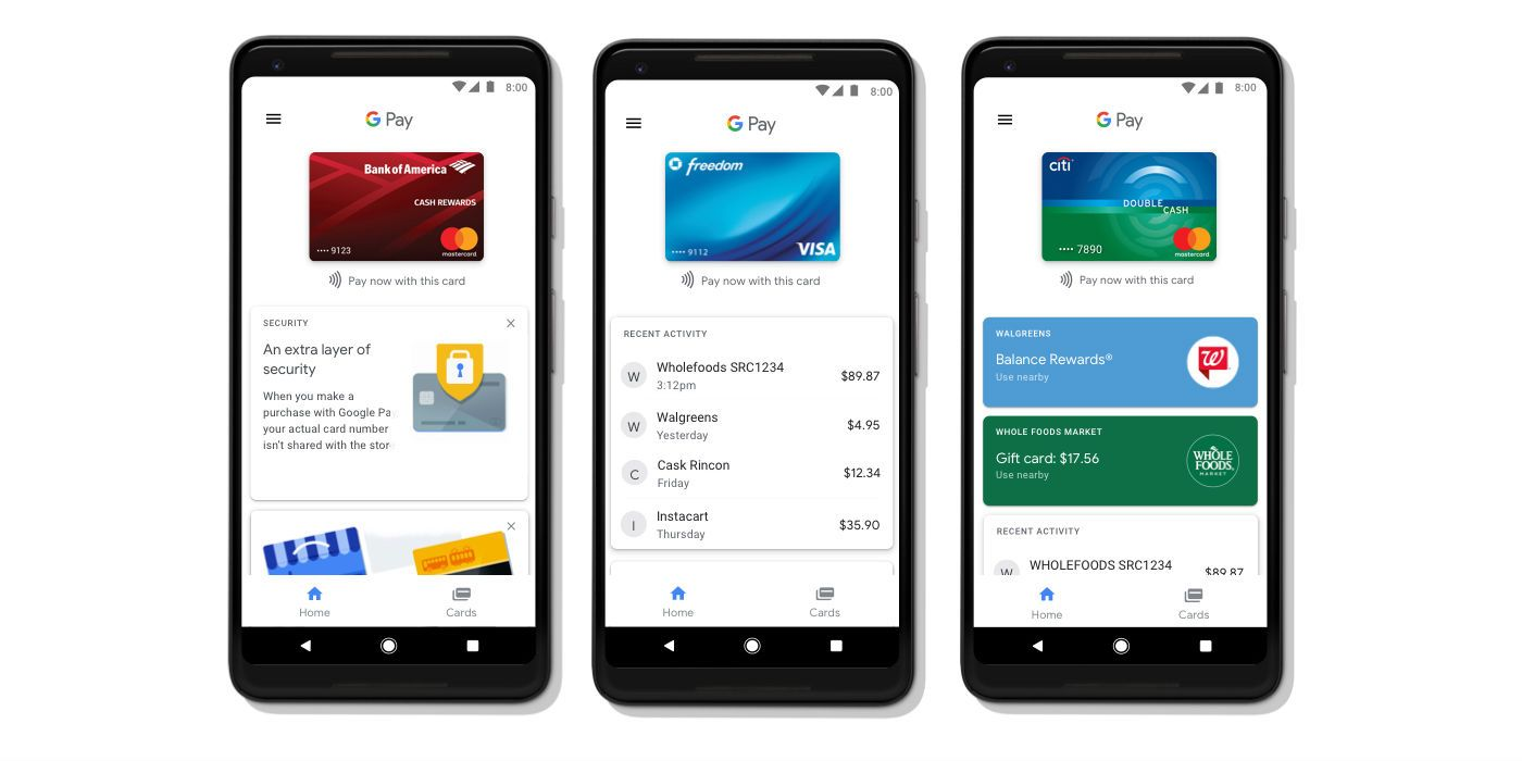 Android Pay and Google Wallet get unified as 'Google Pay'
