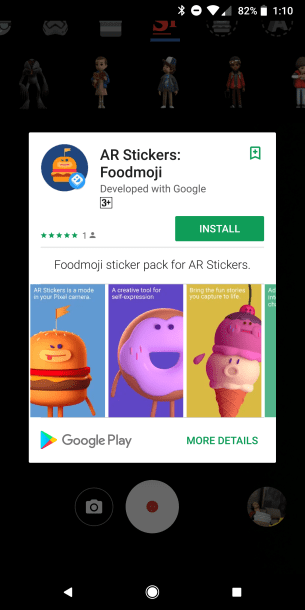 FoodMoji - AR Stickers