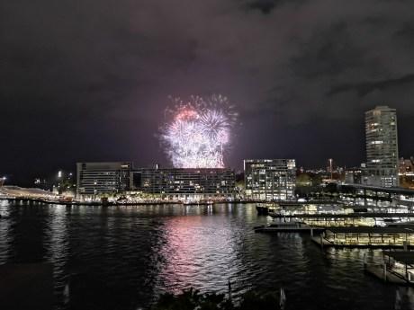 Fireworks at Circular Quay