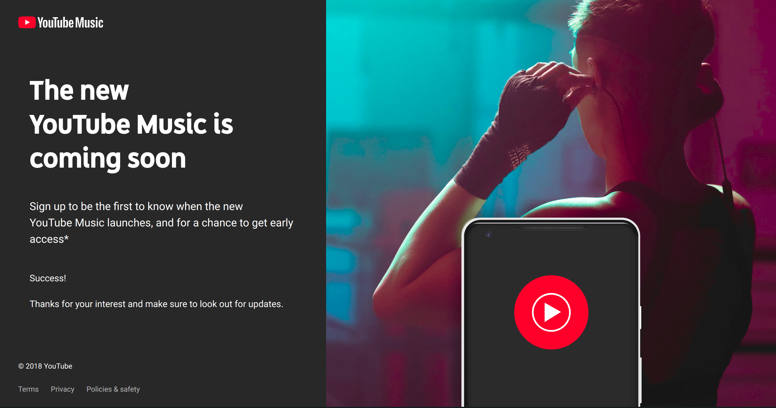 YouTube Music will let users upload their own musc
