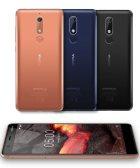 Nokia 5.1 - rear & front