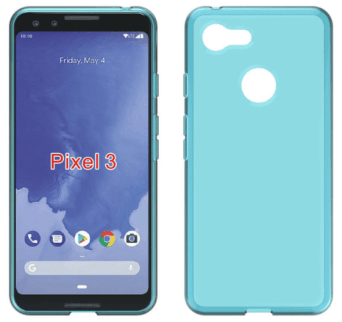 Pixel 3 - TPU Case Render (Clear)