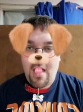 AR Sticker Photo - Dog