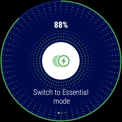 Ticwatch Pro - Switch to Essential Mode