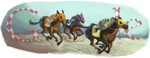 Google Doodle - Melbourne Cup