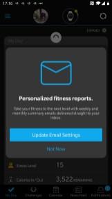 Garmin App Fitness Reports