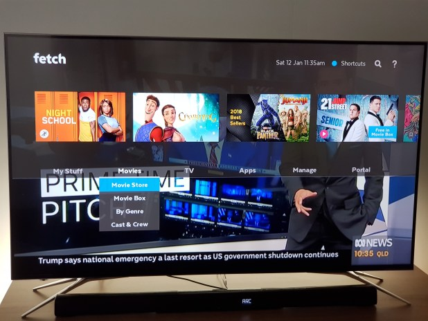 Aussie Broadband Fetch TV Mighty 4K PVR Review - Ausdroid