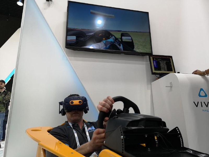 MWC 2019 - Hands on with the HTC Vive - Ausdroid