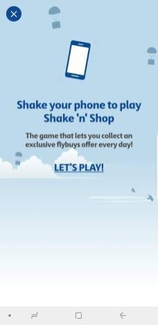 Shake & Play - FlyBuys Screenshot 3