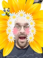 Sunflower Selfie Face
