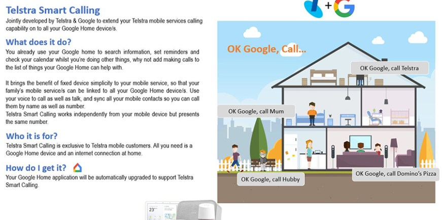 Telstra exploring a Smart Calling feature integrated with Google