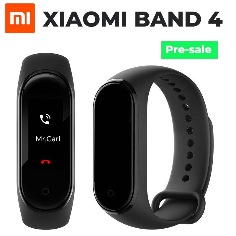 Mi Band 4 with colour OLED display announced