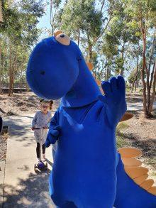Blue Spinasaurus (Spina Bifida Mascot)