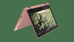 Lenovo Chromebook C340_11inch_Sand_Pink_tent