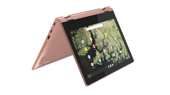 Lenovo Chromebook C340_11inch_Sand_Pink_tent