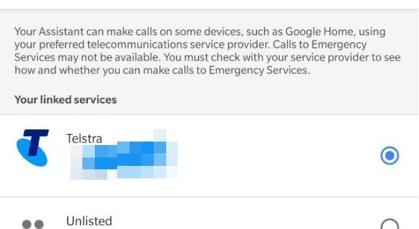 Mobile calling on Google Assistant devices is now live in