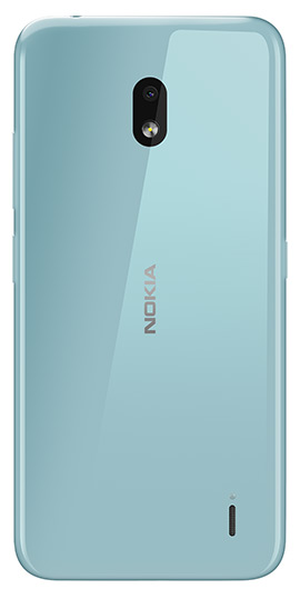 Nokia 2.2 - Rear Xpress Ice Blue Cover