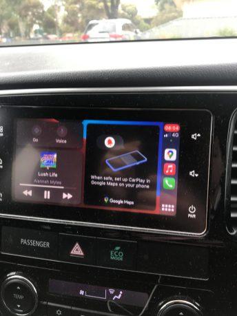 Car Play Maps setup
