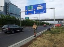 Hitchhike Wien
