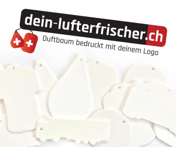 Lufterfrischer mit eigenem Logo