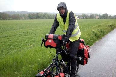 In Voller Montour kann uns der Regen mal!