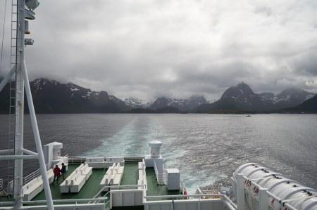 Wechselwetter auf den Lofoten