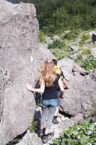 Steiniger Weg an der Watzmann-Ostwand