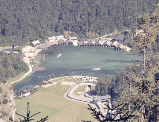Blick vom Grünstein auf den Königssee