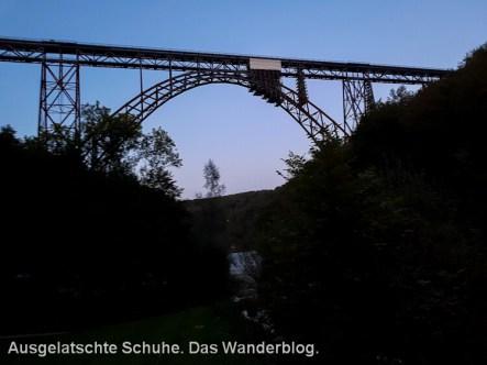 Die höchste Eisenbahnbrücke Deutschlands