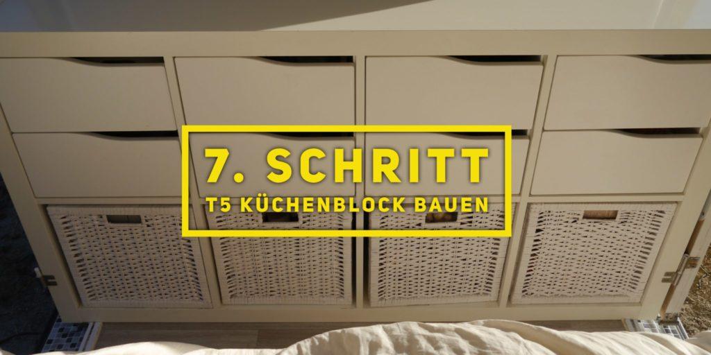 T5 Kchenblock kaufen oder bauen  VW T5 Camper Ausbau