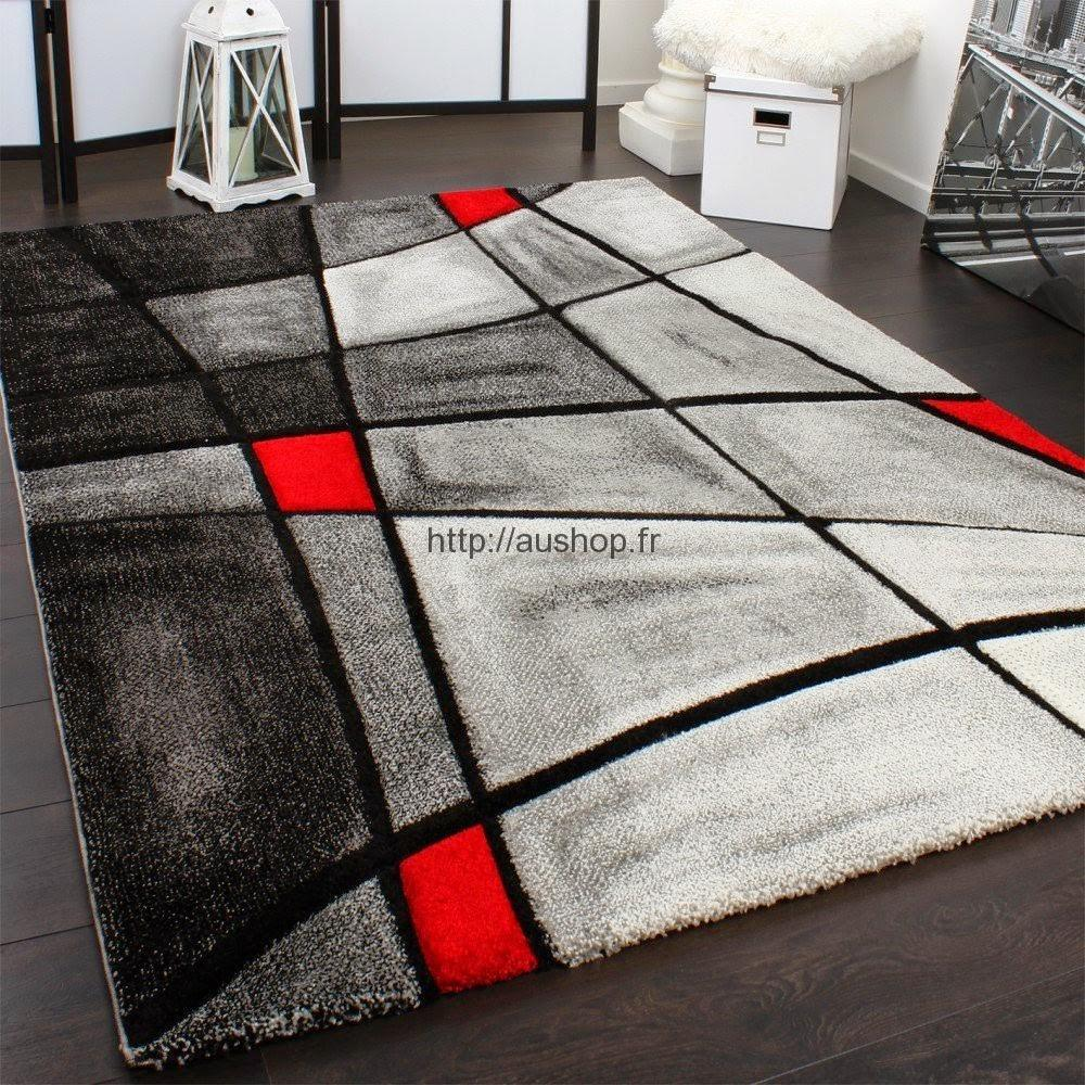 tapis salon design pas cher
