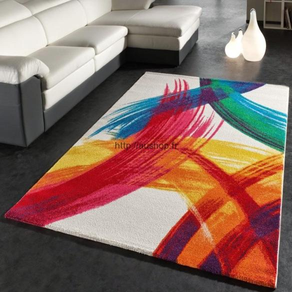 Tapis Salon Design Colores Pas Cher Deco Contemporaine