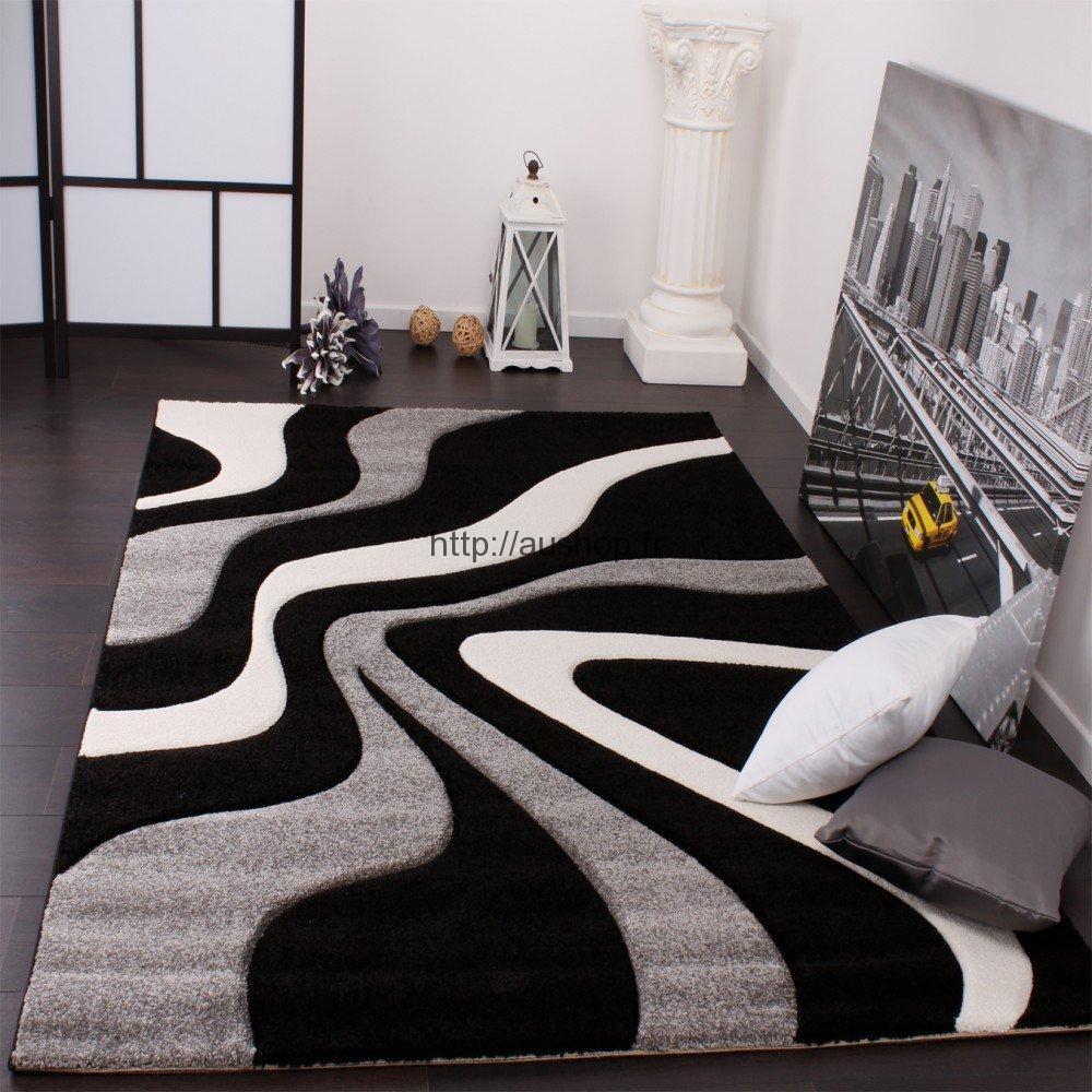 grand tapis de salon contemporain