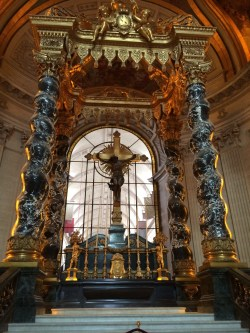 The altar at Napoleon's Tomb